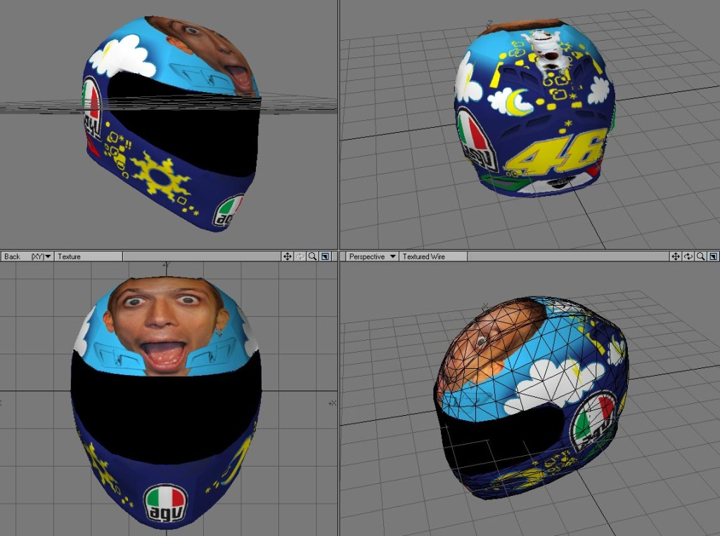 AGV - Valentinosface - Real time 3d