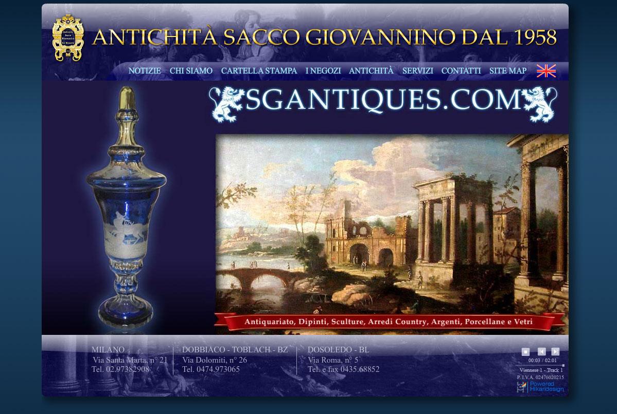 SGAntiques Web Site