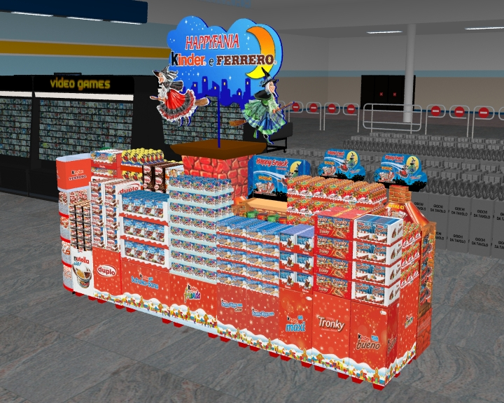 Isola Kinder e Ferrero Perfect Store Strategy