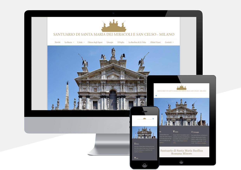 Sito Web Santa Maria dei Miracoli Milano