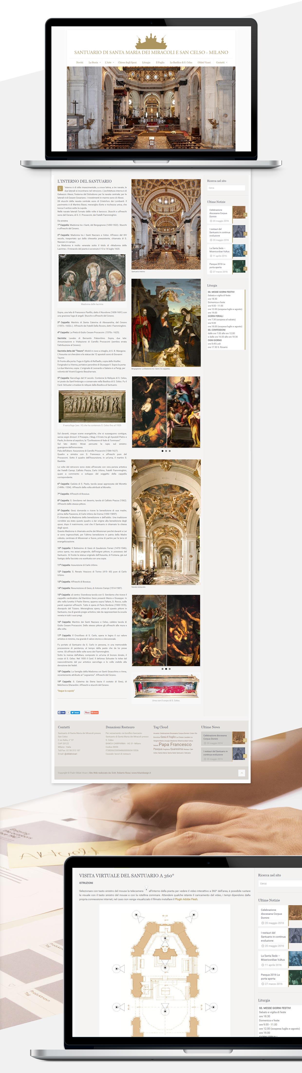 Santa Maria Web Site