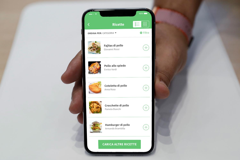 App Ricette Gustose