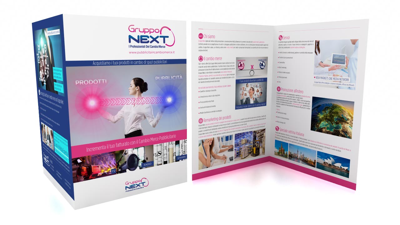 Brochure Cambio Merce Gruppo Next
