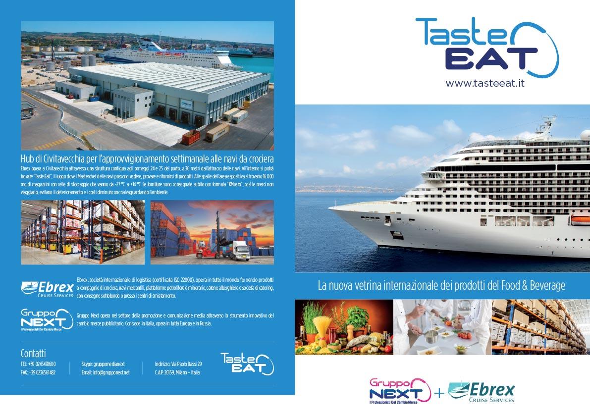 Brochure Taste Eat Gruppo Next