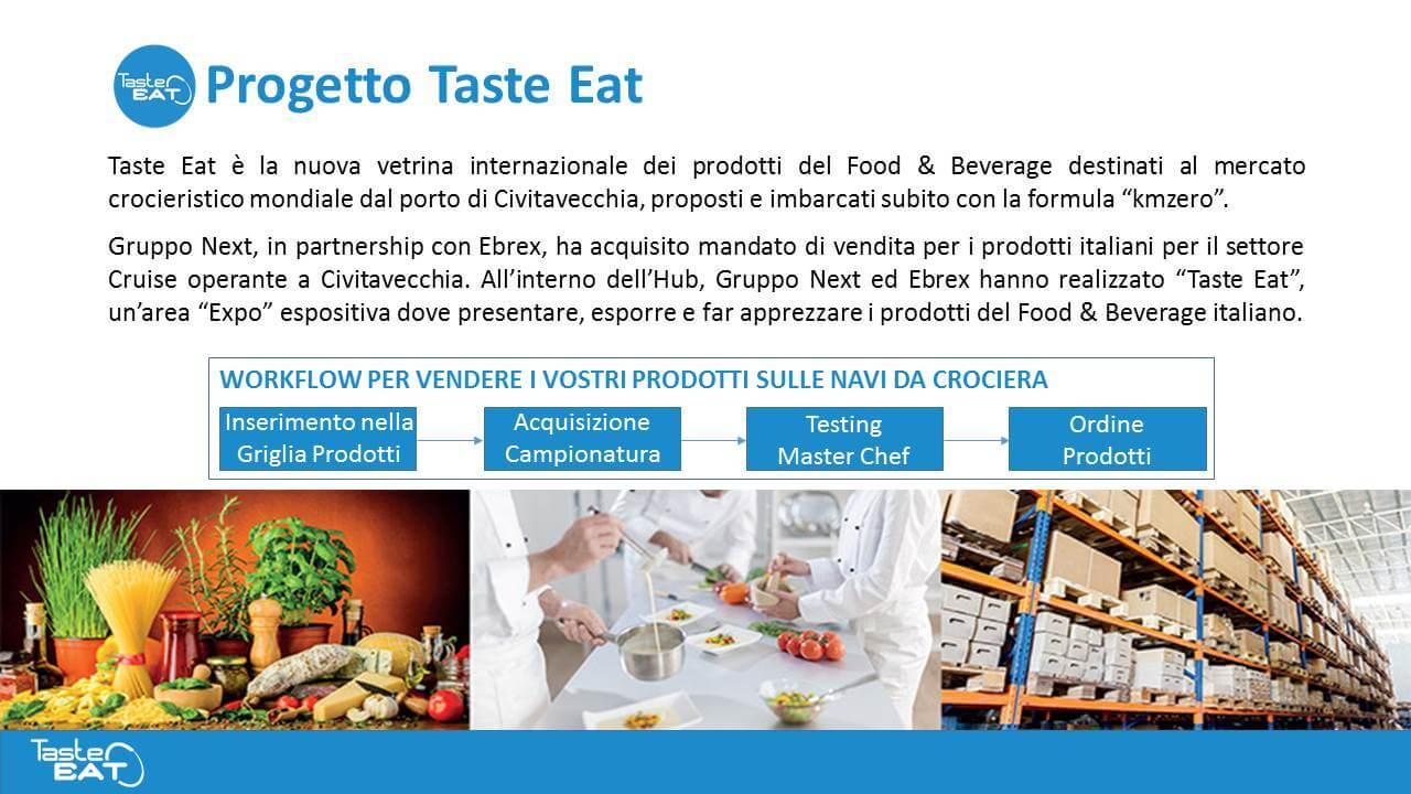 Presentazione PPT Taste Eat