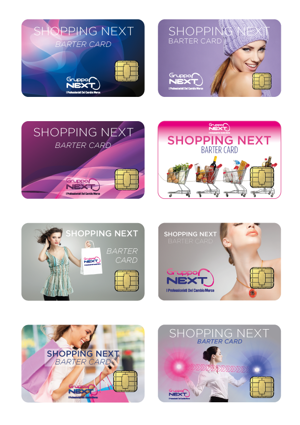 Shopping Cards Gruppo Next