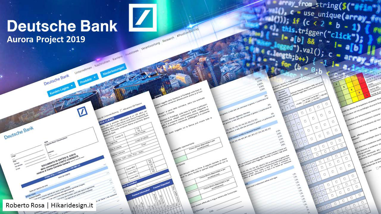 Deutsche Bank SpA | Aurora Digital Project 2020